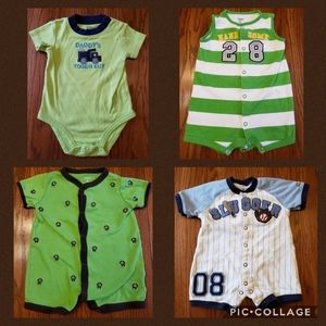Baby Bundle of 4 Boys Clothes 6 Months